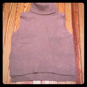 Madewell sleeveless turtleneck sweater